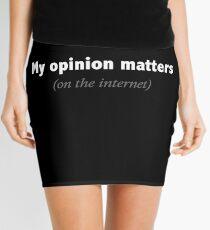 Opinion Mini Skirt