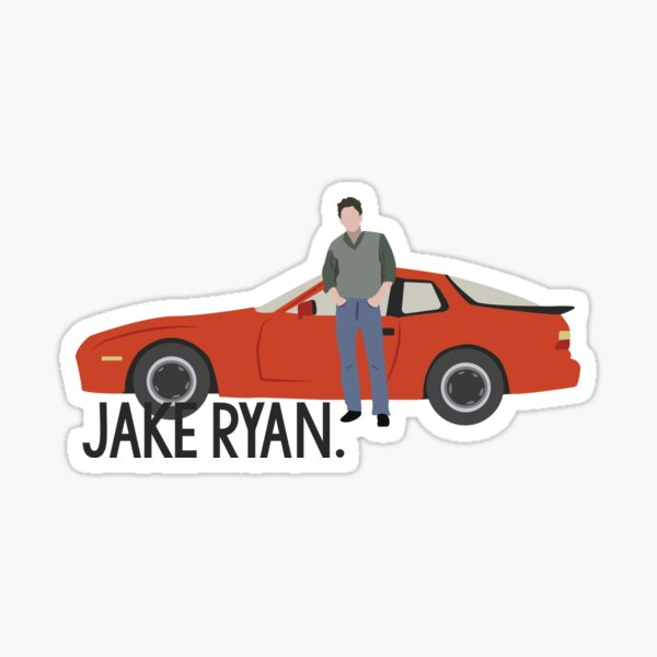 Sixteen Candles - Jake Ryan Sticker
