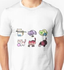 Neko Atsume: Steven Universe Unisex T-Shirt