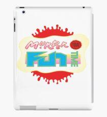 Professor Genki's Murder Time Fun Time iPad Case/Skin