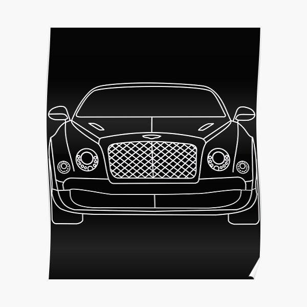 282958 Bentley Bentayga GT Mulsanne Flying Star Super Car POSTER PRINT CA