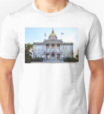 New Hampshire State House Unisex T-Shirt