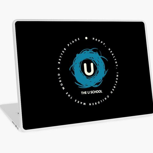 U Turquoise Logo w/ Purpose Laptop Skin