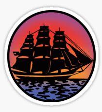 Pirate Ship - Color Sticker