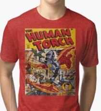 The Human Torch Tri-blend T-Shirt