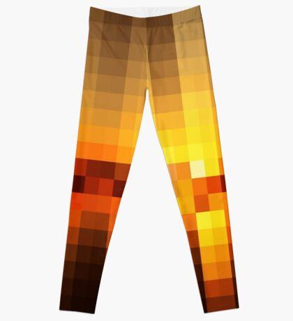 Nature Pixels No 19  Leggings