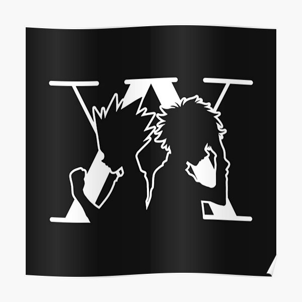 Collection originale d'anime Silhoutte Poster