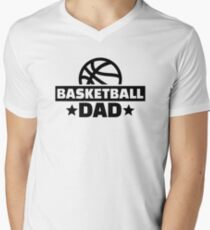 Basketball dad Men's V-Neck T-Shirt