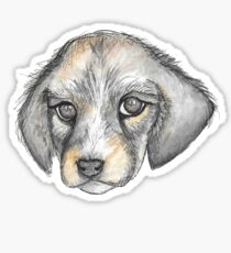 Puppy Sticker