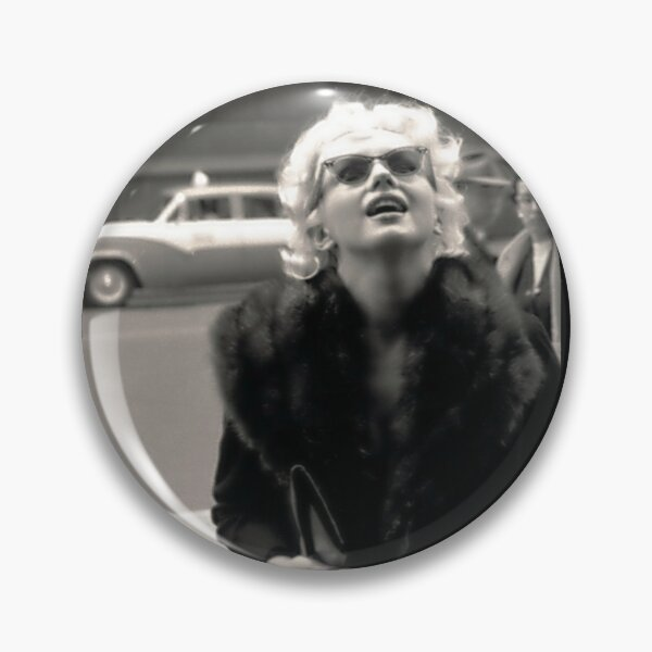 Marilyn Monroe - Candid Moment on the Street in New York City Pin