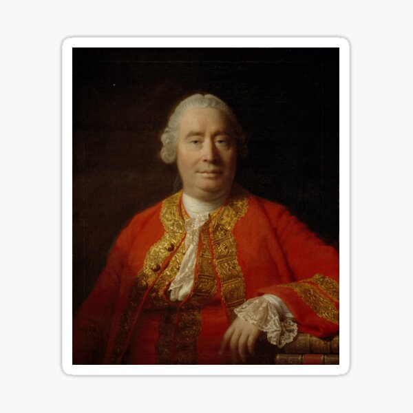 David Hume 1711-1776 Sticker