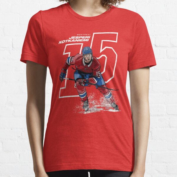 Jesperi Kotkaniemi 15 pour les partisans des Canadiens de Montréal T-shirt essentiel