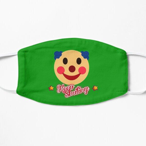 Keep smiling Flat Mask