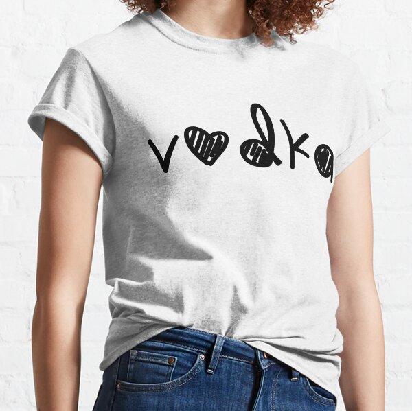 Alcool de vodka mignon (pour les amateurs de VODKA) T-shirt classique