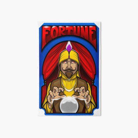 Zoltar Good Fortune Art Board Print