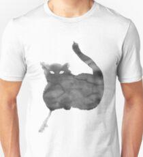 Chat Nuageux • Cloudy Cat • Gato Nublado Unisex T-Shirt