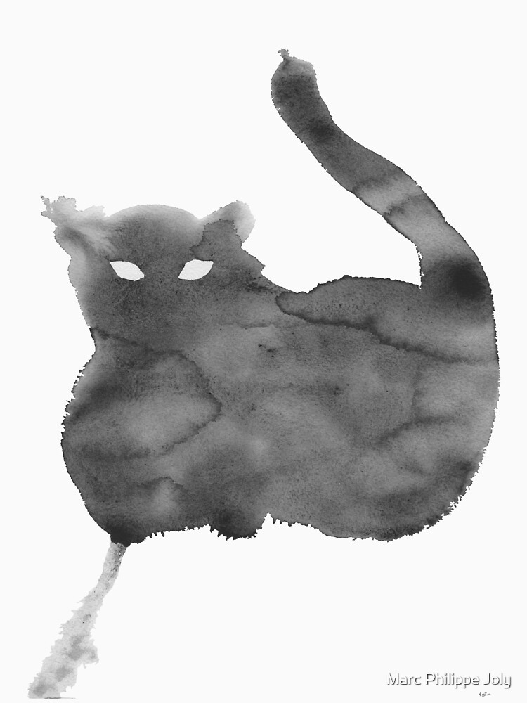 Chat Nuageux • Cloudy Cat • Gato Nublado by MarcPhilJoly