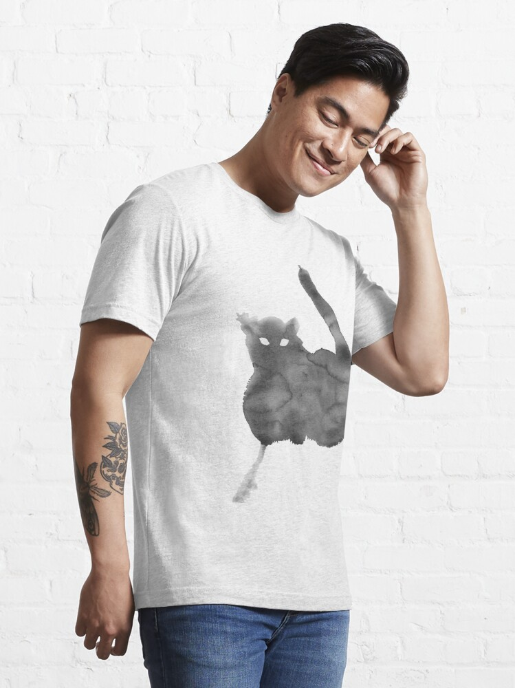 Alternate view of Chat Nuageux • Cloudy Cat • Gato Nublado Essential T-Shirt