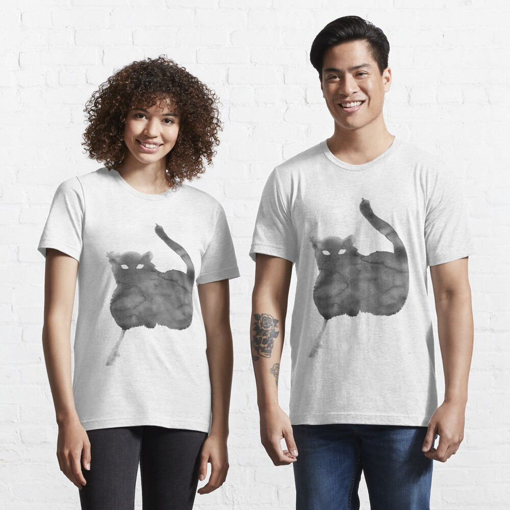 Chat Nuageux • Cloudy Cat • Gato Nublado Essential T-Shirt