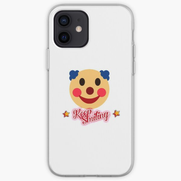Keep smiling iPhone Soft Case