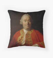 David Hume 1711-1776 Throw Pillow
