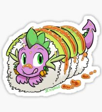 Dragon Roll (MLP) Sticker