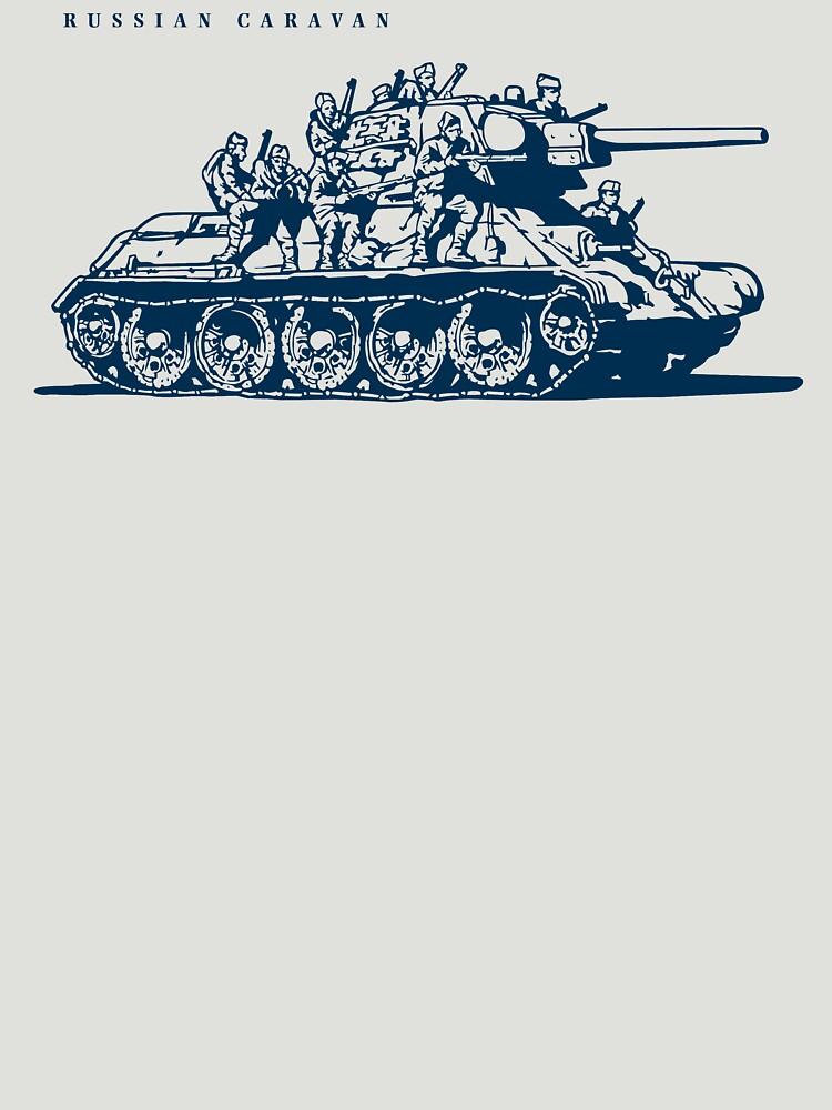 T-34 Russian Caravan by b24flak