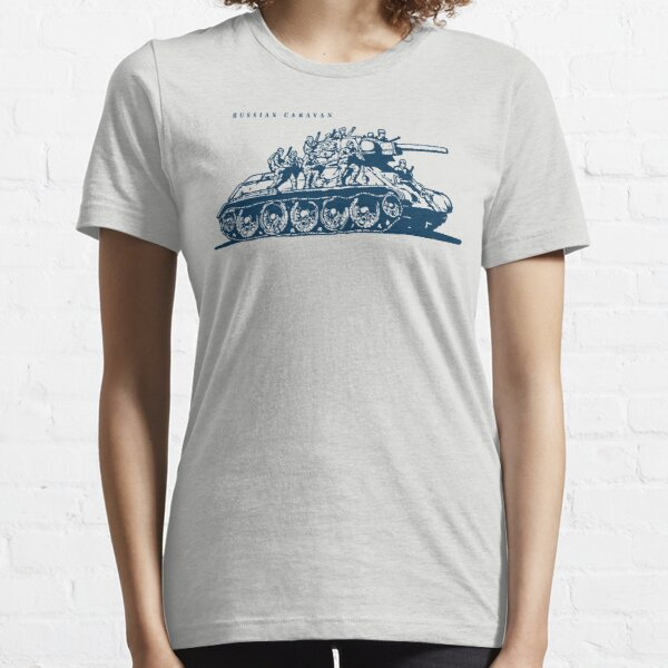 T-34 Russian Caravan Essential T-Shirt