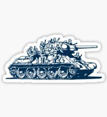T-34 Russian Caravan Sticker