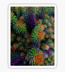 Multi-Coloured Plant Sticker