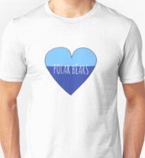 Stranded Polar Bear Love T-Shirt