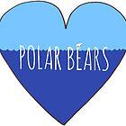 Stranded Polar Bear Love by Rob Price