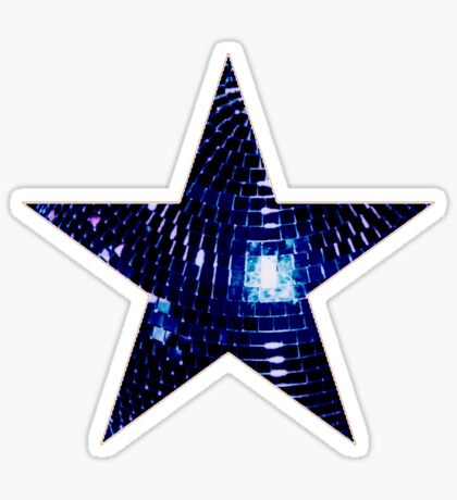 Disco Star Sticker