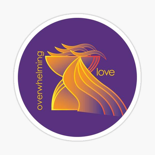 Overwhelming Love Sticker