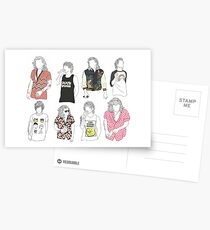 Postales Larry Fashion
