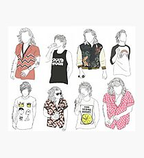Larry Fashion Photographic Print