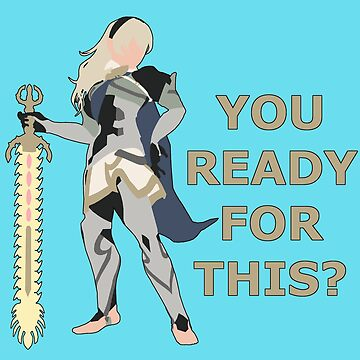 CORRIN | Super Smash Taunts | You ready for this? by Rotom479