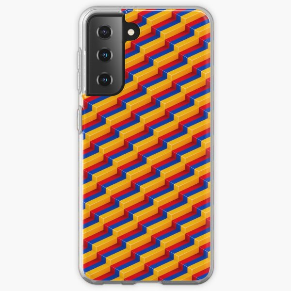 Abstract multi coloured jumper Aesthetic Repeat  in 2021 Samsung Galaxy Soft Case