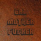 BAD MOTHER FUCKER Leather 2 by crazyowl