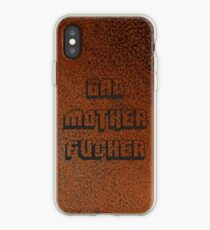 BAD MOTHER FUCKER Leather 2 iPhone Case