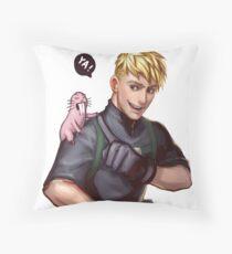 Badass Ron Stoppable x Rufus Throw Pillow