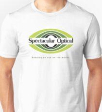 Spectacular Optical - Garder un oeil sur le monde T-shirt ajusté