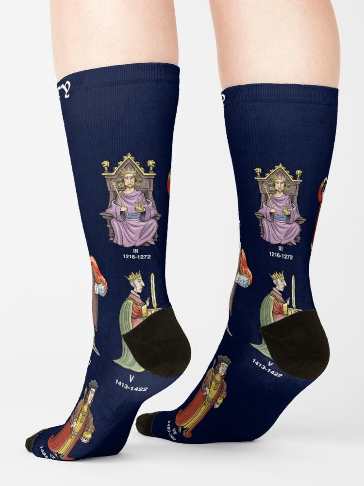 Alternate view of England's King Henrys Socks