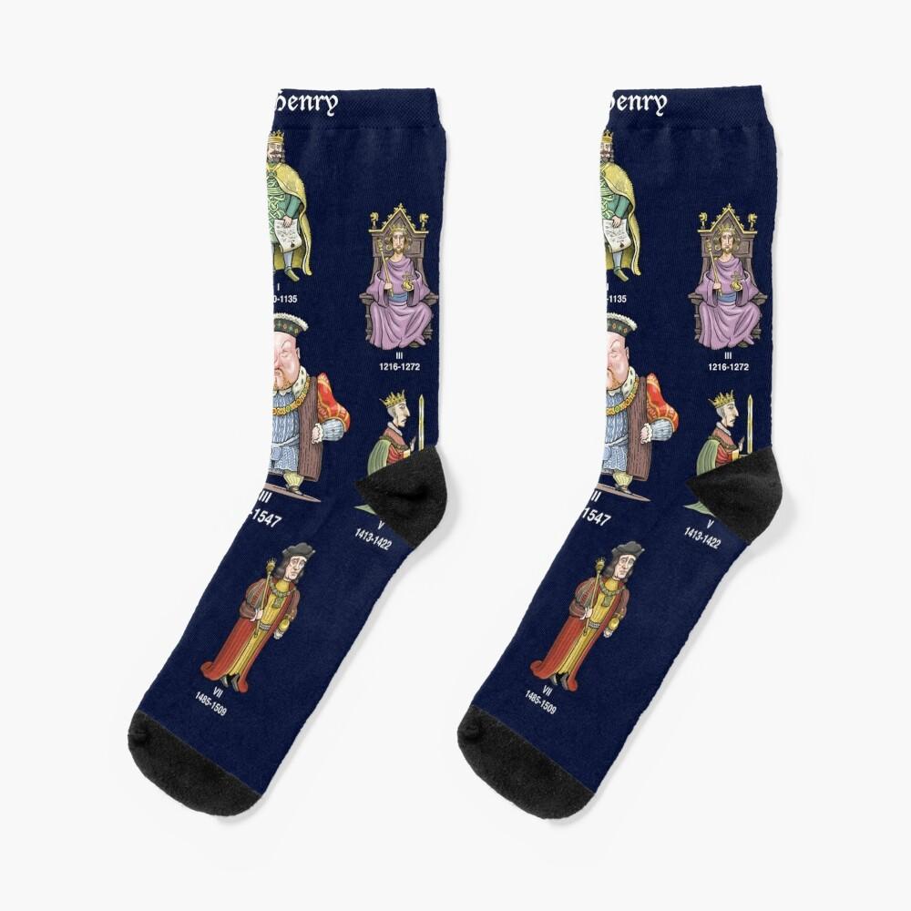England's King Henrys Socks