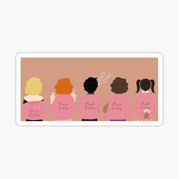 Pink Ladies Sticker