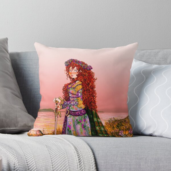 * ROYAL FATE * (CUSHION) Throw Pillow