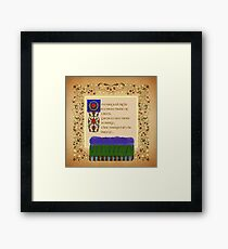 On a Magical Night Square Format Framed Print