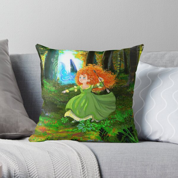 * WILD LASS * (CUSHION) Throw Pillow