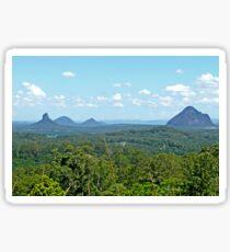 Glasshouse Mountains Sticker