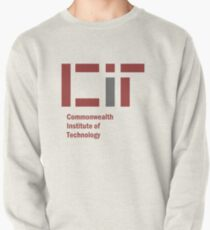 Fallout Inspired CIT - Commonwealth Institute of Technology logo Pullover